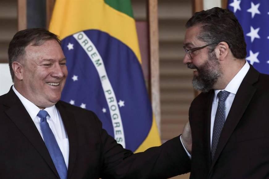 """Brasil y Estados Unidos trabajarán """"juntos contra regímenes autoritarios"""""""