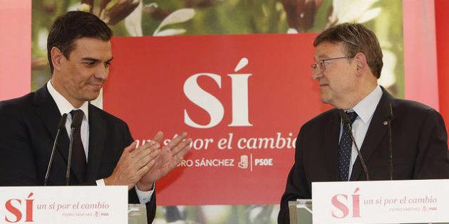 """Ximo Puig (PSOE) la """"Bandera de España no sirve para nada"""", mi """"bandera es la igualdad"""""""
