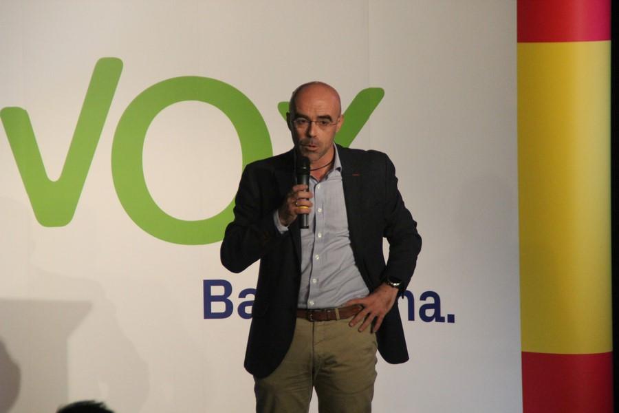 El abogado del Estado Jorge Buxadé inicia el curso político de VOX en Barcelona el 12-E