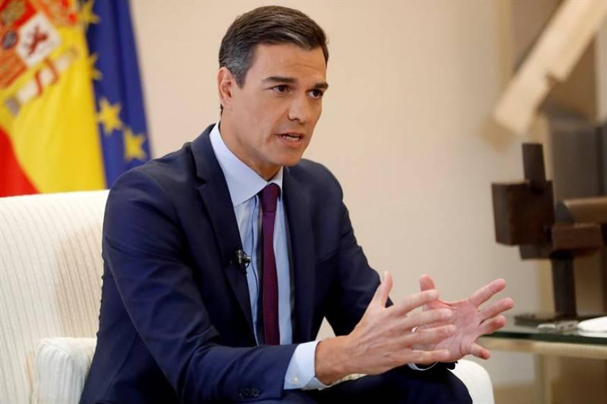 """Sánchez: La alianza """"PP y VOX es mala para España"""" no soy """"un presidente okupa"""""""
