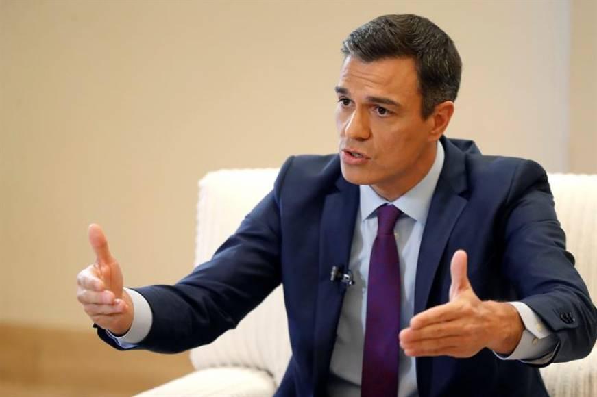 """Sánchez: """"El único partido leal a España es el PSOE, la salida en Cataluña será votar"""""""