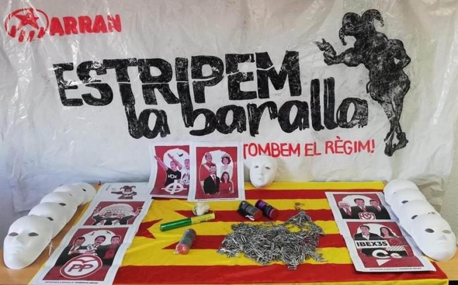Detenidos a Madrid 8 comandos independentistas CDR miembros de la banda ARRAN