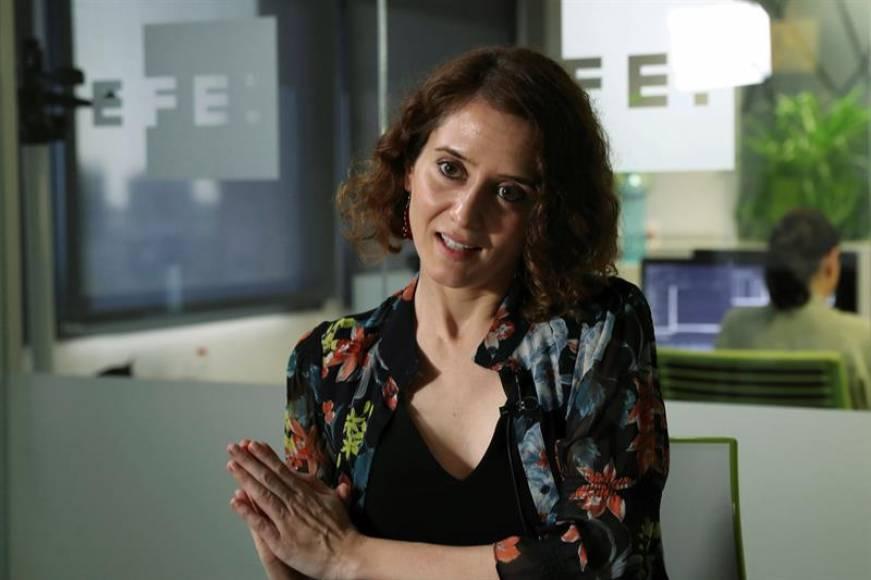Isabel Díaz Ayuso, candidata del PP 2019 a la Comunidad de Madrid