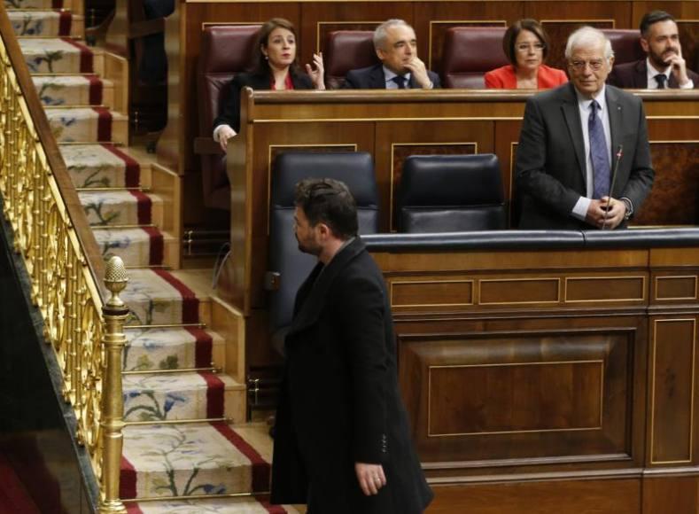El Congreso entra en año electoral, de insultos a escupitajos de independentistas
