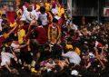 Varios heridos en procesión del Nazareno Negro por las calles de Manila (Filipinas)