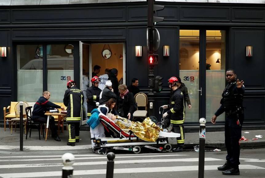 Fallece una española en una explosión en el centro de París
