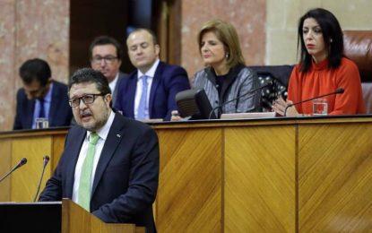 """VOX, """"orgulloso de ser decisiva en el cambio en Andalucía después de 36 años"""""""