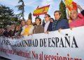 Los Vivas España y Asturias en Oviedo contra el traidor Pedro Sánchez