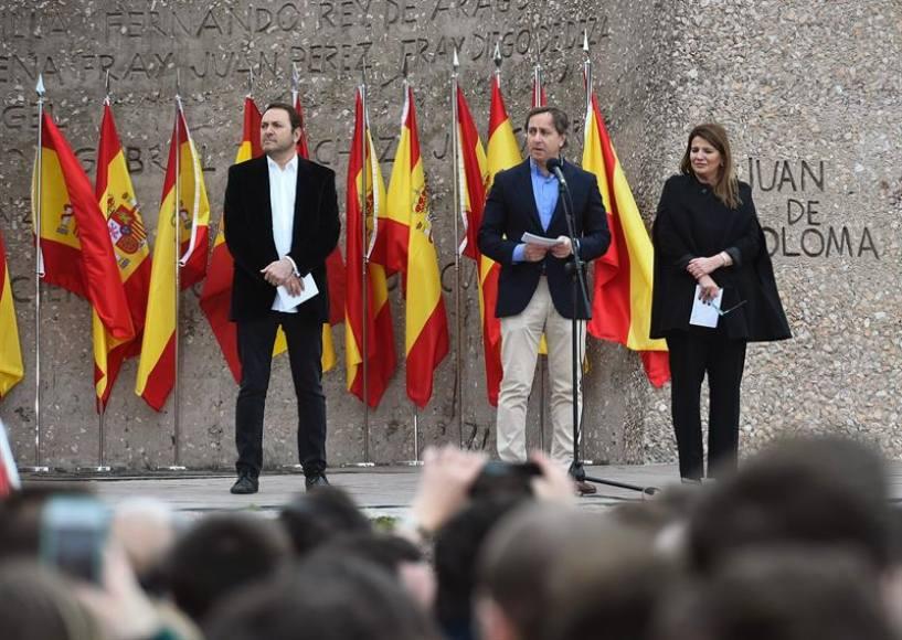 """10F a Sánchez: """"No toleraremos más traiciones a los que quieren destruir nuestra patria"""""""