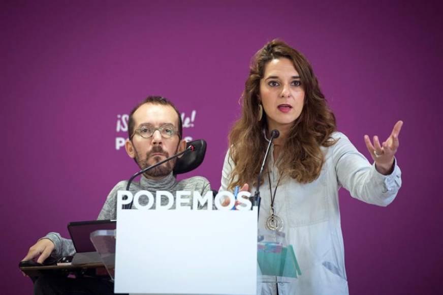 """Podemos: """"La Constitución no es un jarrón chino"""", hay que convocar """"referéndum en Cataluña"""""""