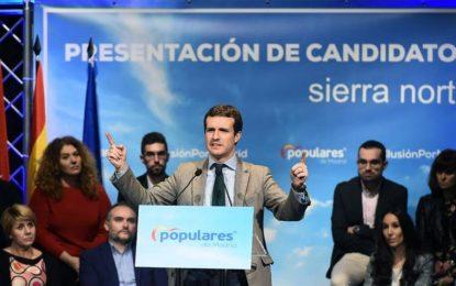 """Casado: """"El PP evitó la ruptura y ruina de España contra Puigdemont, Torra y Sánchez"""""""