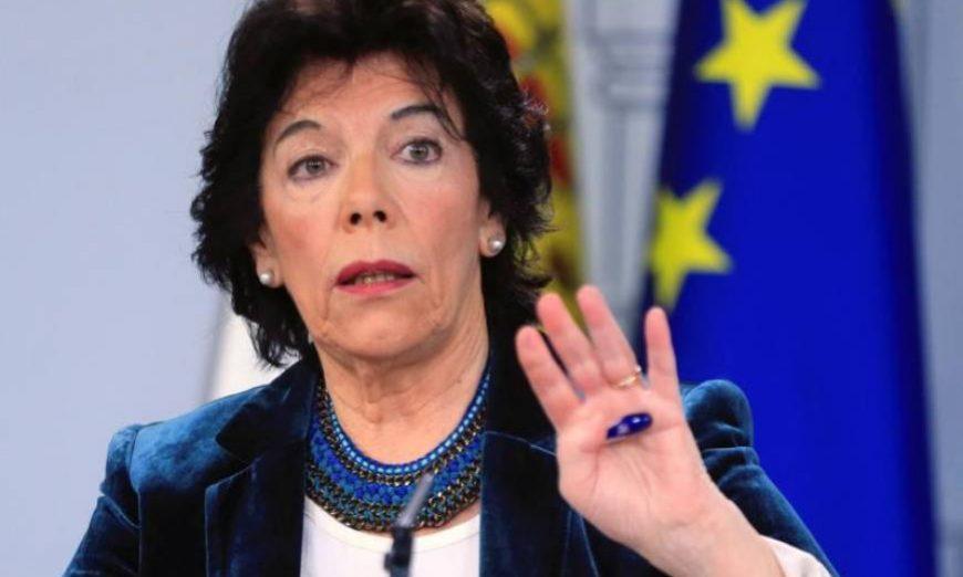 FOTOGRAFÍA. MADRID (ESPAÑA), 31.05.2019. La ministra de Educación y portavoz del Gobierno en funciones, Isabel Celaá. Efe.