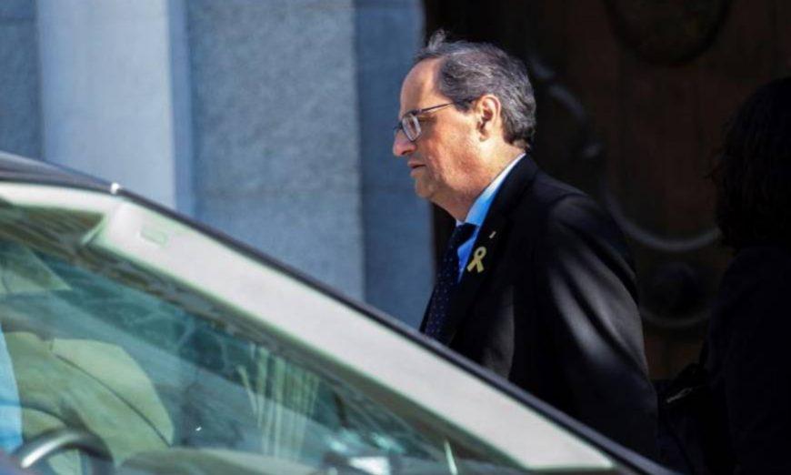 FOTOGRAFÍA, CATALUÑA (ESPAÑA), AÑO 2019. El presidente de la Generalitat, Quim Torra. Efe.