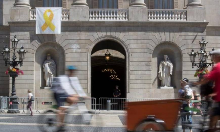 FOTOGRAFÍA. BARCELONA (ESPAÑA), 17.07.2019. Manuel Valls apoya el independentismo con los votos de Ciudadanos Cs. Efe