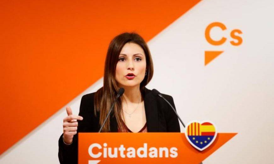FOTOGRAFÍA. BARCELONA (ESPAÑA), AÑO MAYO DE 2019. La portavoz de Ciudadanos Cs en el Parlamento de Cataluña, Lorena Roldán. Efe