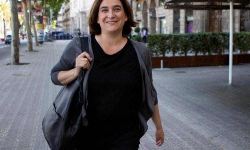 FOTOGRAFÍA. BARCELONA (ESPAÑA), JUNIO DE 2019. Vista d ela concejal electa y actual alcaldesa en funciones del Ayuntamiento de Barcelona, Ada Colau. Efe