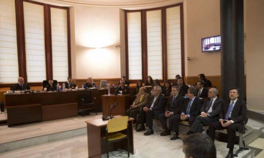 FOTOGRAFÍA. BARCELONA (ESPAÑA), JUNIO DE 2019. Vista de la Audiencia de Barcelona. Hoy, 12.07.2019. El presidente de la Audiencia Provincial de Barcelona. Efe