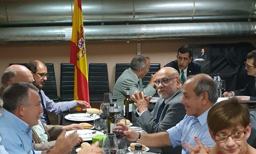 FOTOGRAFÍA. BARCELONA (ESPAÑA). 21.06.2019. La asociación monárquica «Unión Monárquica de España» (UME), el lustro del rey Felipe VI. Ñ Pueblo