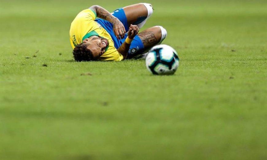 FOTOGRAFÍA. BRASILIA (BRASIAL), 05.07.2019. El jugador de Brazil Neymar. Efe