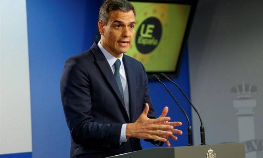 FOTOGRAFÍA. BRUSELAS (BÉLGICA), 21.07.2019. El presidente en funciones del Gobierno español, Pedro Sánchez. Efe.