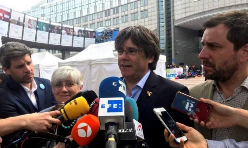 FOTOGRAFÍA. BRUSELAS (BÉLGICA), JUNIO DE 2019. El expresidente de la Generalitat huido a Bélgica, Carles Puigdemont. Efe