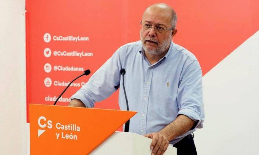 FOTOGRAFÍA. CASTILLA Y LEÓN (ESPAÑA), 25.07.2019. El candidato de Cs a la Presidencia de la Junta de Castilla y León, Francisco Igea. Efe