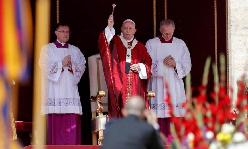 FOTOGRAFÍA. CIUDAD DEL VATICANO (VATICANO), 09.07.2019. El papa Francisco alertó hoy en el Vaticano contra el miedo al diferente. Efe.