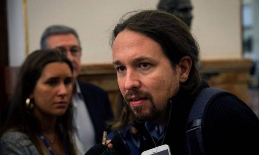 FOTOGRAFÍA. ESPAÑA, AÑO 2019. E líder de la extrema izquierda en España, actual secretario general de Podemos y portavoz de la alianza de ultraizquierda. Efe
