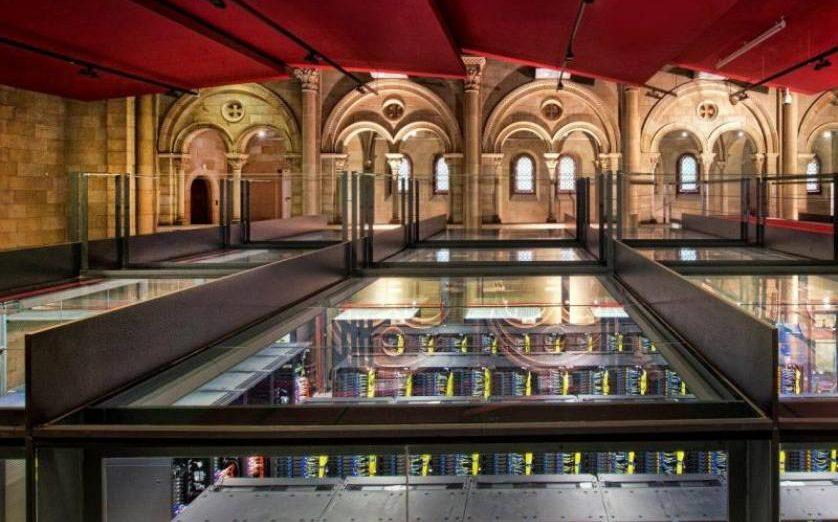 FOTOGRAFÍA. EUROPA, 07.07.2019. Imagen facilitada por el «Barcelona Supercomputing Center-Centro Nacional de Supercomputación» (BSC-CNS), del superordenador «Mare Nostrum». Efe