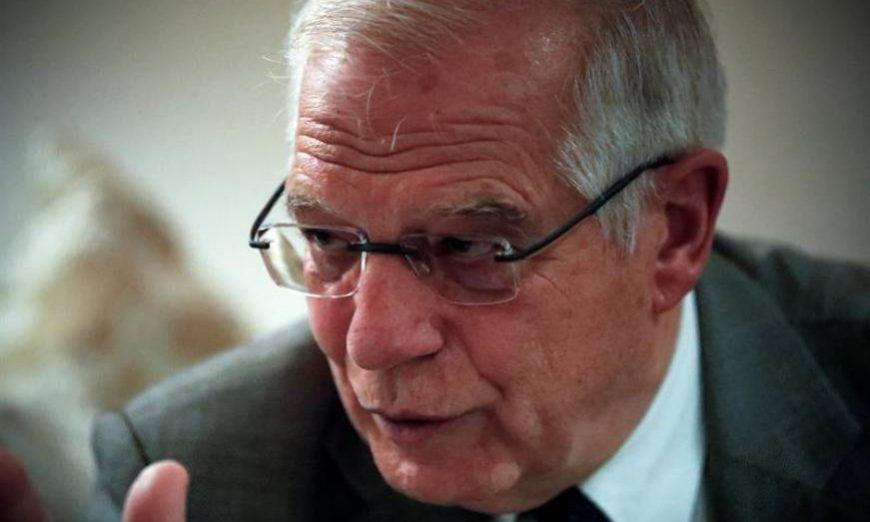 FOTOGRAFÍA. FEZ (MARRUECOS), 14.07.2019. El ministro español de Asuntos Exteriores en funciones, Josep Borrell, lamentó hoy que el Partido Popular (PP) y Cs. Efe