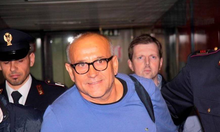 FOTOGRAFÍA. FIUMICINO (ROMA) ITALIA, 30.05.2012. El jefe camorrista Giuseppe Polverino. Efe.