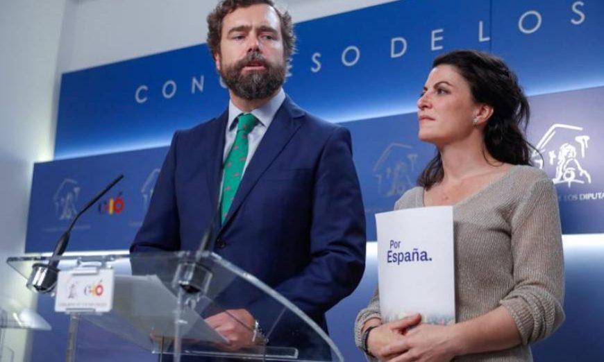 FOTOGRAFÍA. MADRID (CONGRESO D ELOS DIPUTADOS) ESPAÑA, 10.07.2019. El portavoz de Vox en el Congreso, Iván Espinosa de los Monteros. Efe.