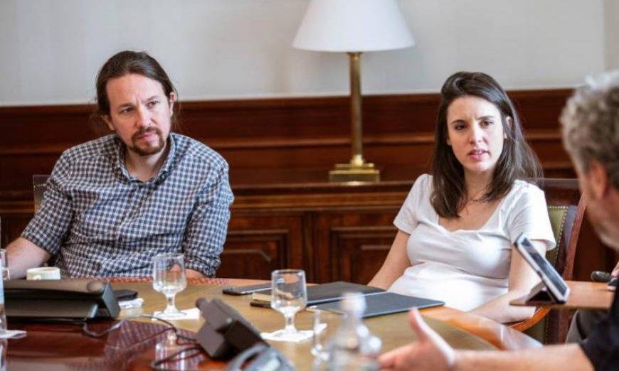 FOTOGRAFÍA. MADRID (ESPAÑA), 07.06.2019. El secretario general de Podemos, Pablo Iglesias. Efe.