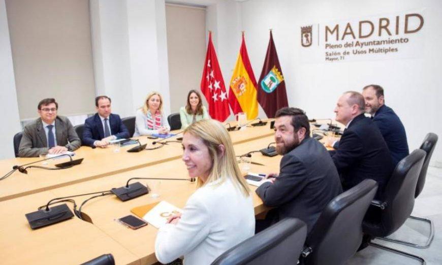 FOTOGRAFÍA. MADRID (ESPAÑA), 07.07.2019. El miembro de la Ejecutiva Permanente de Ciudadanos Miguel Gutiérrez (2d). Efe
