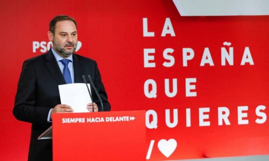 FOTOGRAFÍA. MADRID (ESPAÑA), 10.07.2019. El secretario de Organización del PSOE y ministro de Fomento en funciones, José Luis Ábalos. Efe.