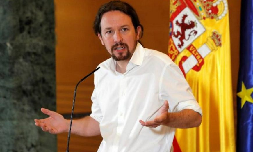 FOTOGRAFÍA. MADRID (ESPAÑA), 11.07.2019. El secretario general de Podemos, Pablo Iglesias. Efe