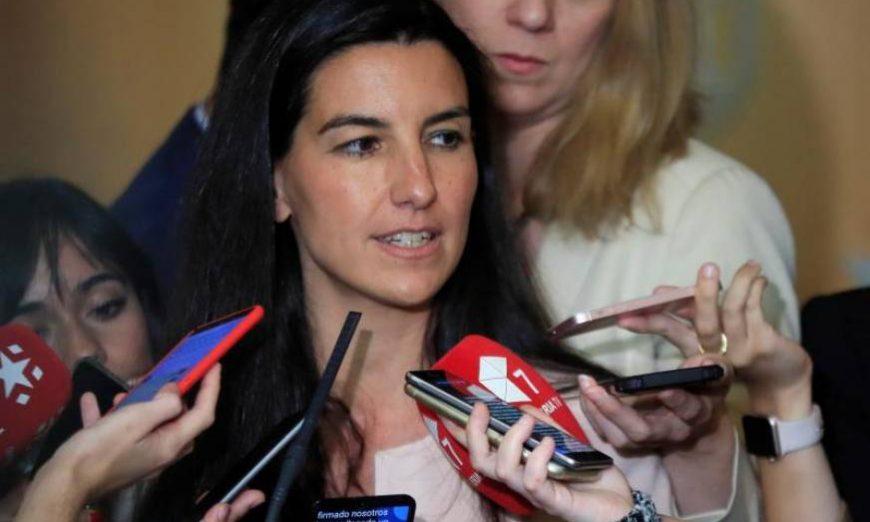 FOTOGRAFÍA. MADRID (ESPAÑA), 11.07.2019. La candidata de Vox a la Presidencia de la Comunidad de Madrid, Rocío Monasterio. Efe.