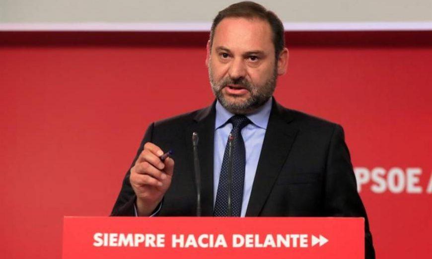 FOTOGRAFÍA. MADRID (ESPAÑA), 17.07.2019. El secretario de Organización del PSOE y ministro de Fomento en funciones, José Luis Ábalos. Efe.