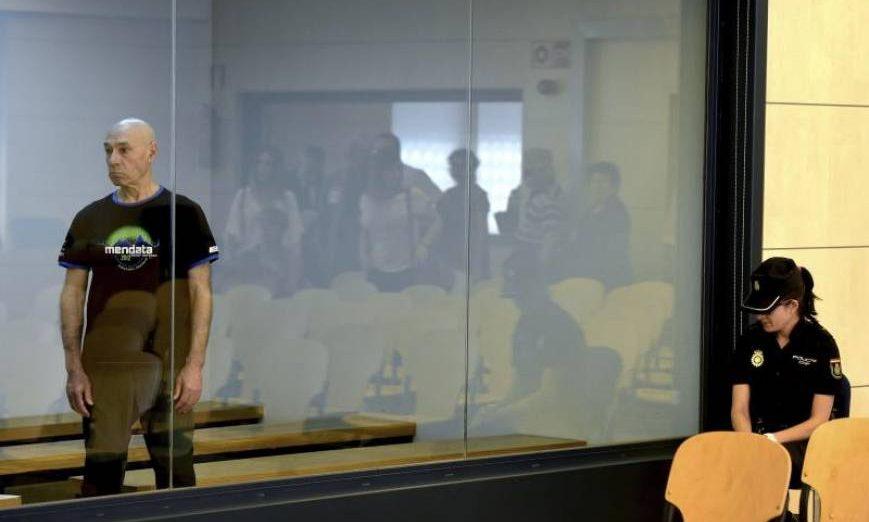 FOTOGRAFÍA. MADRID (ESPAÑA), AÑO 2015. Vista del monstruo racista y asesino terrorista independentista, Santiago Arrospide Sarasola, alias «Santi Potros», el histórico asesino terrorista. Efe