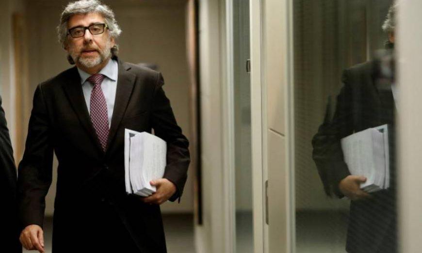 FOTOGRAFÍA. MADRID (ESPAÑA), AÑO 2019. Vista del letrado independentista Jordi Pina, abogado de tres de los acusados en el juicio del Procés -Jordi Sànchez, Jordi Turull y Josep Rull-. Efe