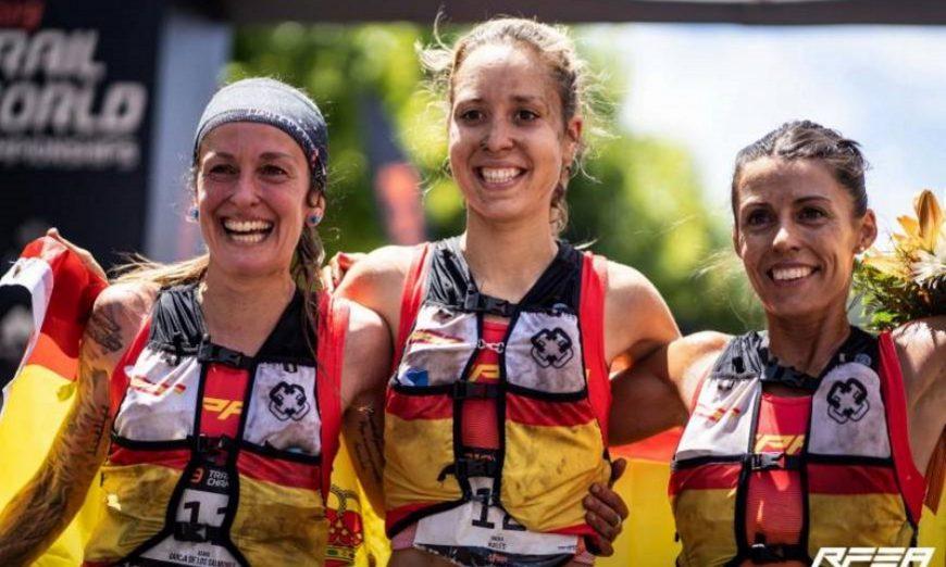 FOTOGRAFÍA. MIRANDA DO CORVO (PORTUGAL), 08.07.2019. España consiguió este sábado la medalla de oro en mujeres en los campeonatos del mundo. Efe