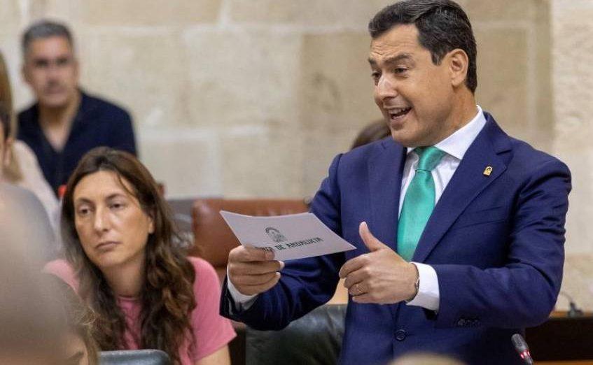 FOTOGRAFÍA. SEVILLA (ESPAÑA), 12.07.2019. Pleno histórico de Andalucía sobres las enmiendas a la totalidad de los Presupuestos de Cs y del PP. Efe