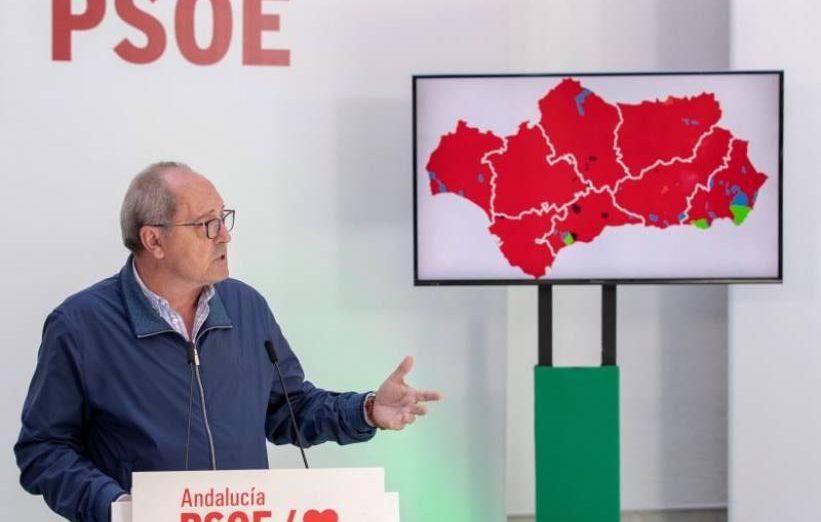 FOTOGRAFÍA. SEVILLA (ESPAÑA), MAYO DE 2019. El secretario de Organización del PSOE andaluz, Juan Cornejo. Efe