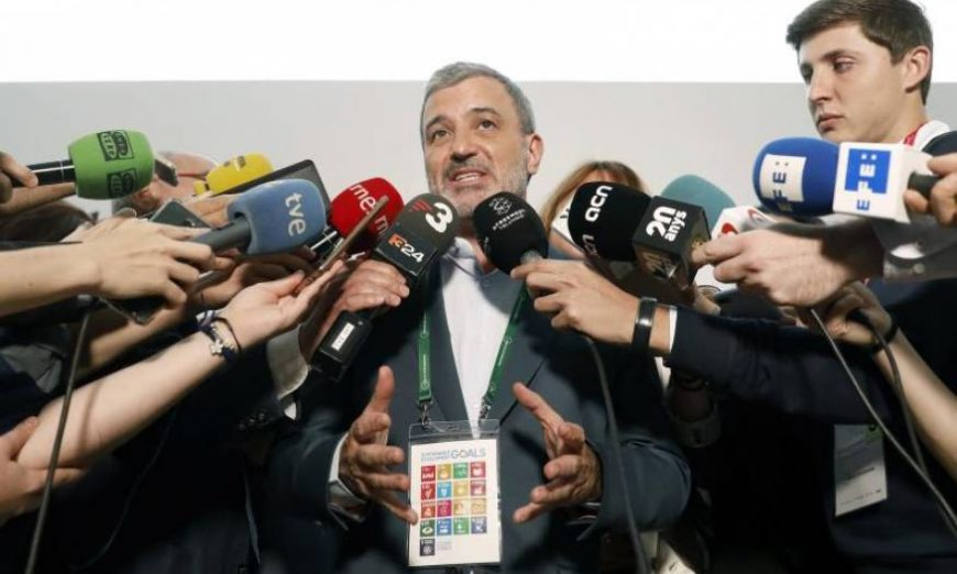 FOTOGRAFÍA. SITGES (BARCELONA) ESPAÑA, 01.05.2019. El secretario de Política Municipal del PSC y concejal electo del Ayuntamiento de Barcelona, Jaume Collboni. Efe