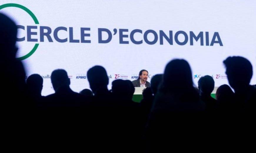 FOTOGRAFÍA. SITGES (BARCELONA) ESPAÑA, 31.05.2019. El secretario general de Podemos, Pablo Iglesias, aborda el escenario que se abre en España y Europa tras las elecciones del 26 M. Efe