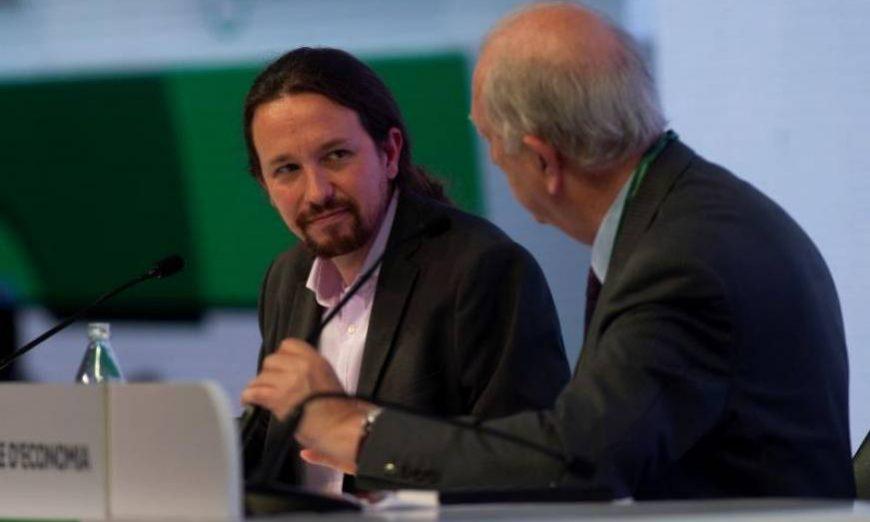 FOTOGRAFÍA. SITGES (BARCELONA) ESPAÑA, 31.05.2019. El secretario general de Podemos, Pablo Iglesias (i). Efe.