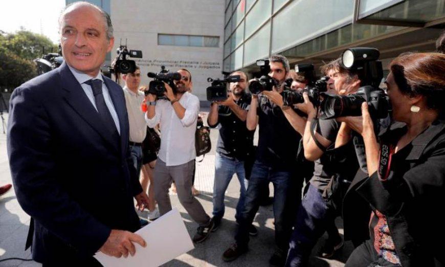 FOTOGRAFÍA. VALENCIA (ESPAÑA), AÑO 2018. El expresident de la Generalidad Valenciana, Francisco Camps (PP). Efe.