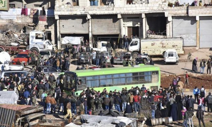 FOTOGRAFÍA. ALEPO (SIRIA), 16.12.2016. Fotografía facilitada por 'SANA', que muestra a los civiles. Efe
