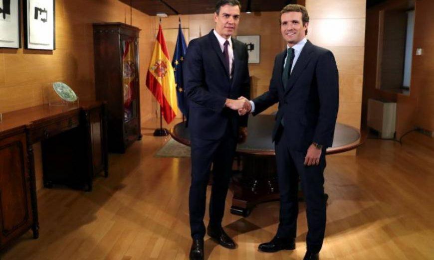 FOTOGRAFÍA. MADRID (ESPAÑA), 11.07.2019. El presidente del Gobierno en funciones, Pedro Sánchez (i). Efe