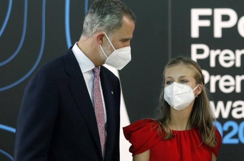 FOTOGRAFÍA. BARCELONA (ESPAÑA), 01.07.2021El rey Felipe VI y la princesa Leonor. Efe